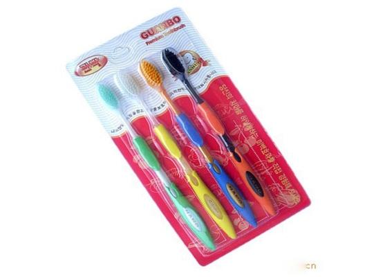 Бамбуковые щетки цветные НАНО фото 1