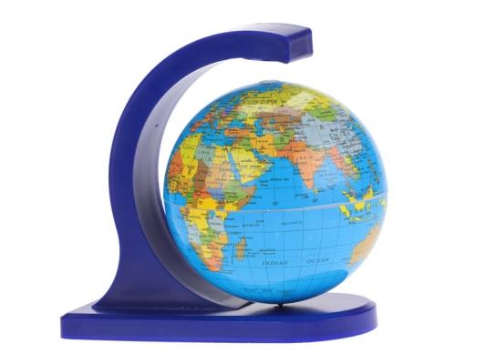Глобус вращающийся Магнитный , 10 см фото