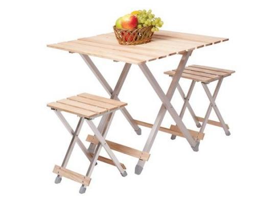 Комплект Alluwood стол стулья раскладные Большой фото