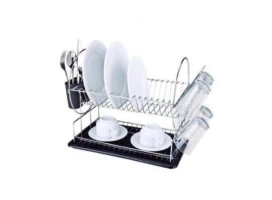 Сушка для посуды хромированная фото
