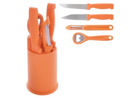 Ножи кухонные с подставкой Lucky фото