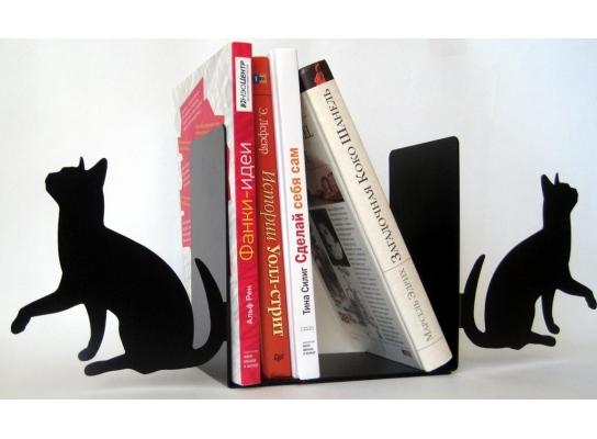 Интерьерный книгодержатель Кошки фото