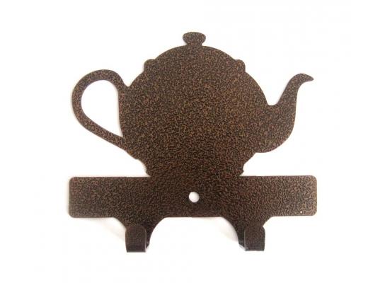 Вешалка настенная Чайник фото