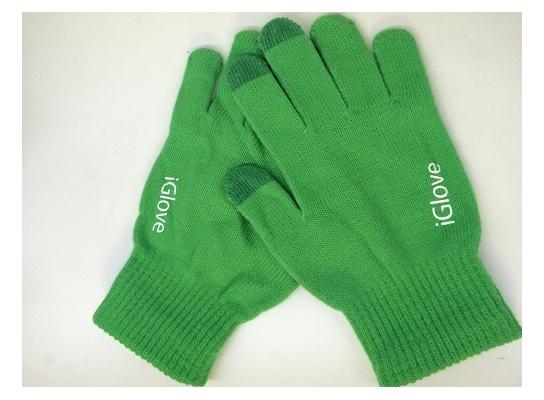Перчатки для iРhone iGloves Зеленые фото