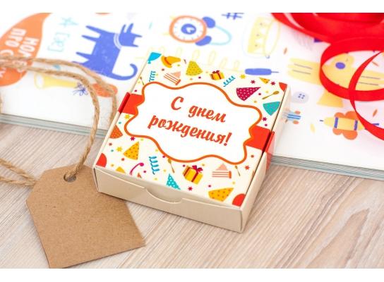 Шоколадный набор С Днем Рождения мини фото