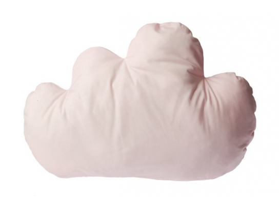 Подушка светло-розовая Тучка фото