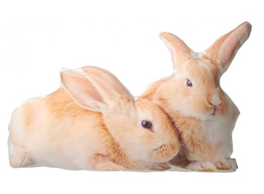 Подушка Рыжие кролики фото