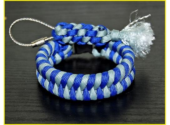 Паракордовый браслет выживания Синева фото
