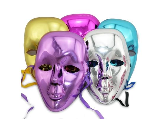 Карнавальная маска блестящяя фото 1