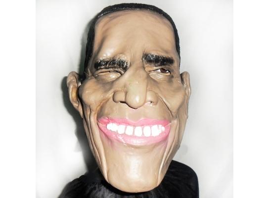 Карнавальная маска латексная Обама фото