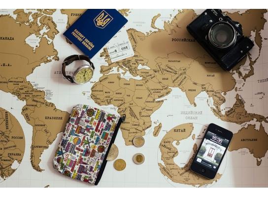 Scratch map White настенная карта мира на английском языке фото