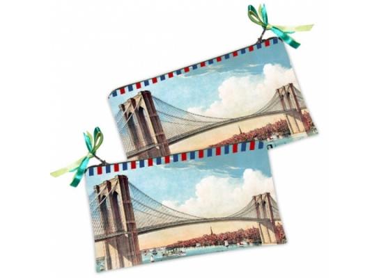 Косметичка-кошелек Мост фото