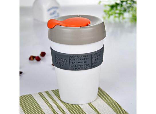 Термочашка Keep Cup Белая фото