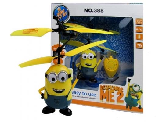 Летающая игрушка Миньон с пультом фото