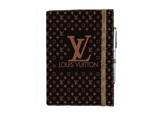 Блокнот на резинке Rainbow Louis Vuitton фото