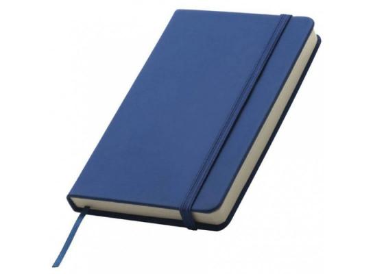 Блокнот на резинке Lubeck Синий