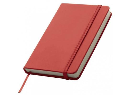 Блокнот на резинке Lubeck Красный