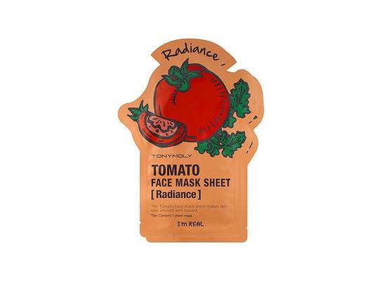 Маска для лица с экстрактом томата TONY MOLY I'm Real Tomato Mask Sheet