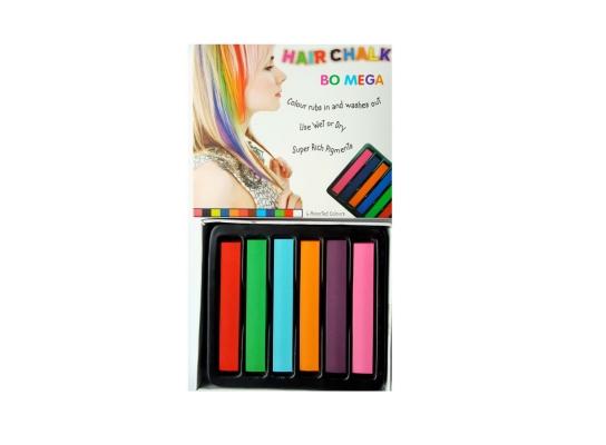 Мелки для волос Hair chalk Bomega 6 шт фото