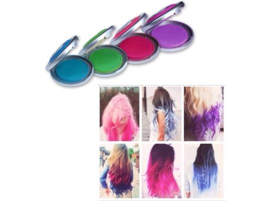 Цветные мелки для волос Hot Huez фото, мелки для волос, vtkrb lkz djkjc