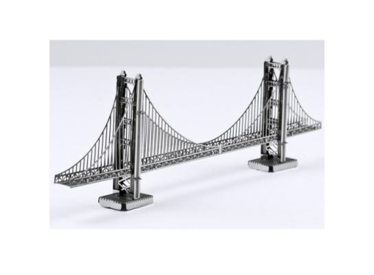 """Металлическая сборная 3D модель """"Мост Golden Gate"""", Metal Earth фото"""