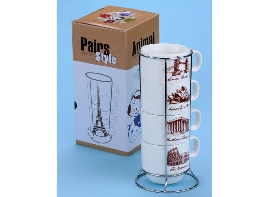 Набор чашек Мировые Столицы фото
