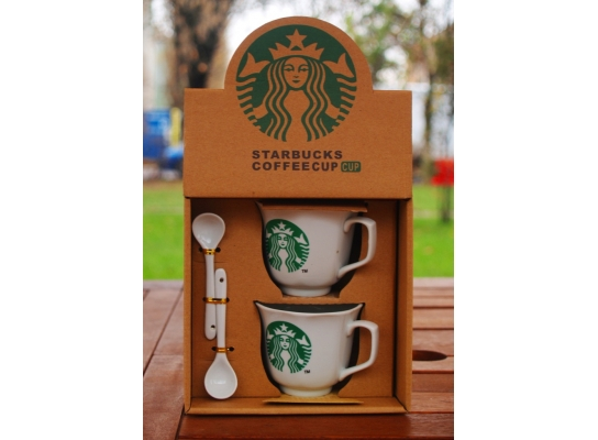 Набор кофейных чашек Старбрукс 1992