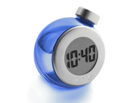 Настольные жидкокристалические часы Бутыль фото