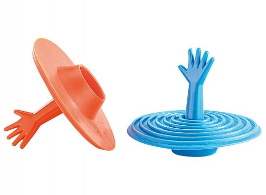 Пробка для раковины и ванны Рука Help! фото 3