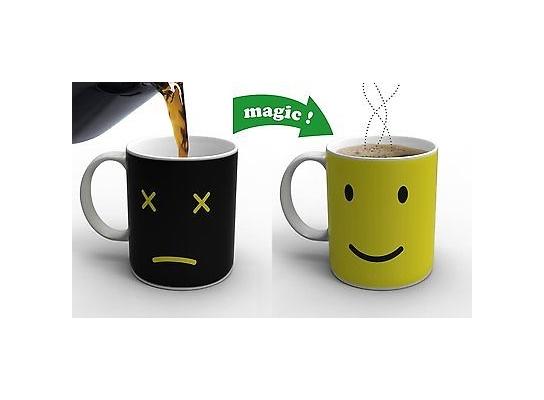 Чашка-хамелеон Smile фото