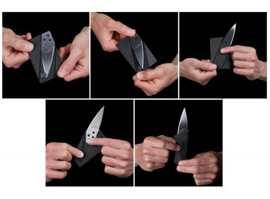 Нож - кредитка Сard Sharp фото