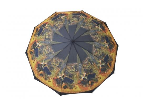 Зонт Антишторм Ночной Нью-Йорк фото