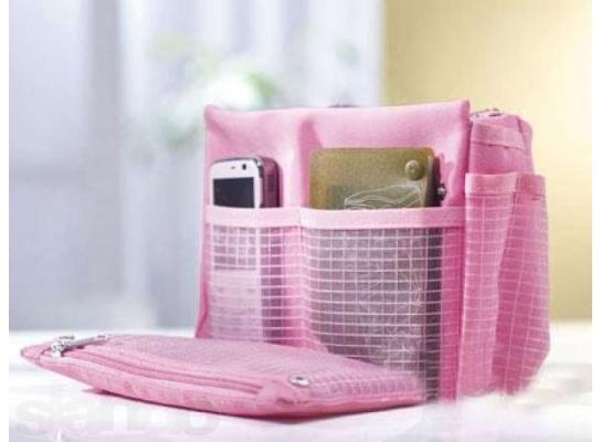 Органайзер для сумочки со множеством кармашков фото
