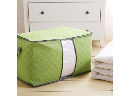 Органайзер для одежды, постельного белья бамбук фото