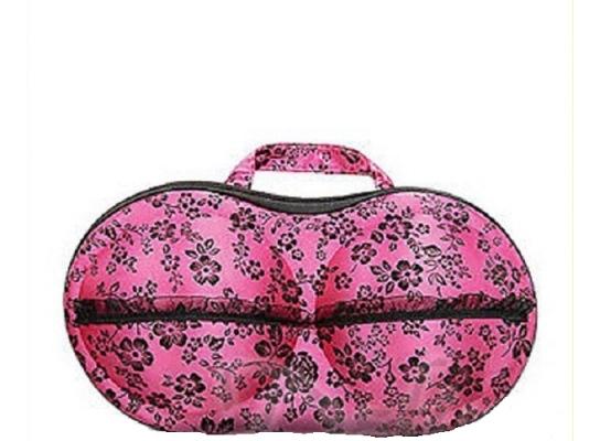Органайзер для бюстгальтеров Розовый в цветочек фото