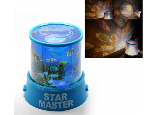 Проектор звездного неба Star Master Океан фото