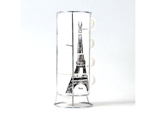 Набор чашек Опять хочу в Париж Маленький фото