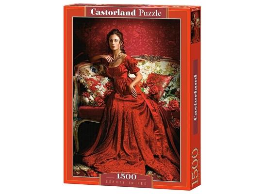 купить Пазл Леди в красном на 1500 элементов
