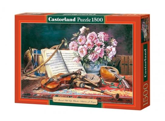 купить Пазл Натюрморт для музыканта на 1500 элементов