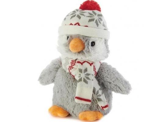 Игрушка-грелка Пингвин в шапочке фото