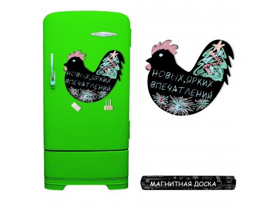 Магнитная доска на холодильник Огненный петух фото