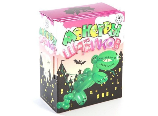 Детский игровой набор Монстры из шариков фото, купить, цена, отзывы