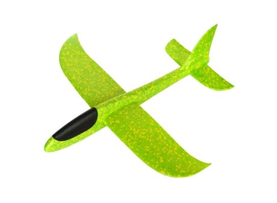 Планер метательный EXPLOSION зеленый, размах крыльев 49 см. фото 2