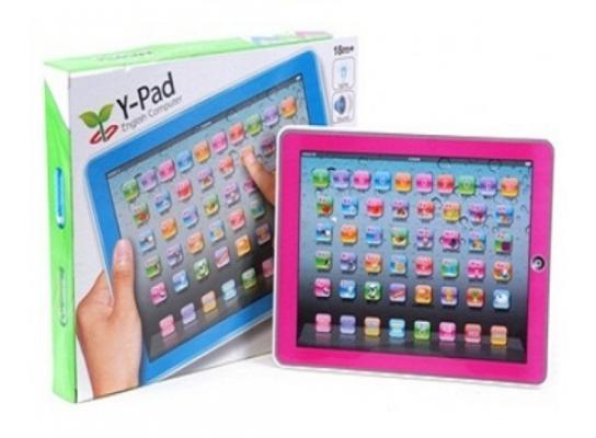 Большой детский обучающий планшет Y-Pad фото