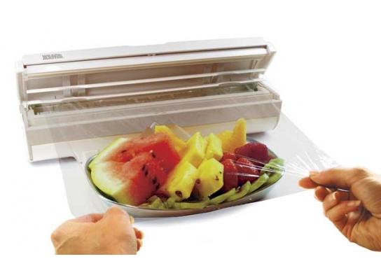 """Диспенсер для хранения пищевой пленки и фольги """"Wraptastic"""" фото"""