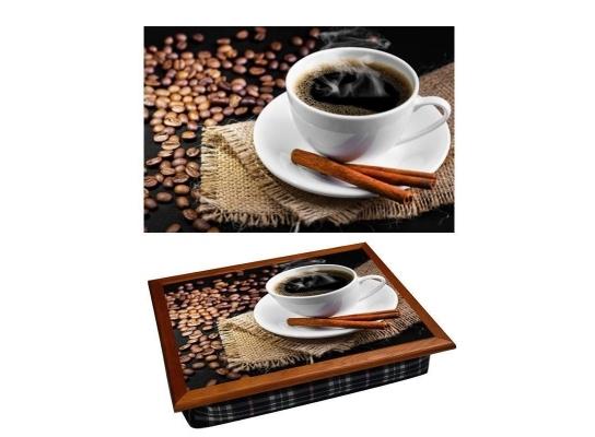 Поднос с подушкой Кофе с корицей