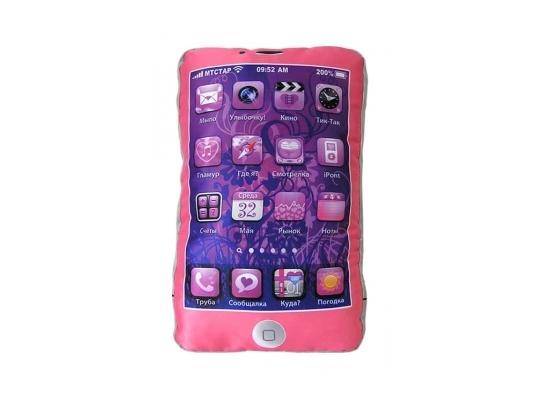 Подушка Iphone Гламур розовая фото