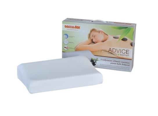 Подушка с памятью ADVICE for woman