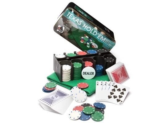 Покерный набор Professional Poker Chips 200 фото