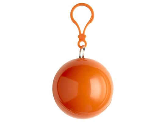 купить Пончо-дождевик в футляре Оранжевый